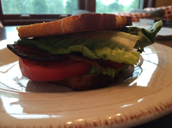 BLT with avocado